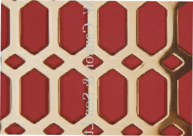 Brass Sheets Slot and Diamond - Grilles for use in radaitor covers, cabinets or as screening panels