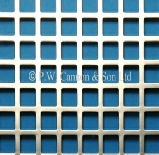 P.W. Cannon & Son Ltd - Nickel Plated Sheets - Grilles for use in Radiator Covers, Cabinets and as Screening Panels