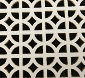 White Faced MDF Grilles