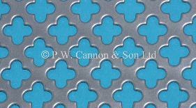 P.W. Cannon & Son Ltd - Silver 1020 Large Club 12 Powder Coated Metal Sheets for use in Radiator Covers, Cabinets and as Screening Panels