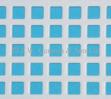 6mm Square Hole Powder Coated Metal Sheets - Grilles for use in radiator covers, cabinets or as screening panels