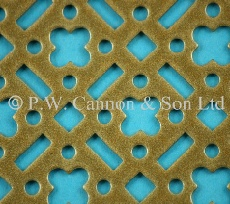 Pattern No 59 Powder Coated Metal Sheets