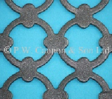 Pattern No 7 Powder Coated Metal Sheets