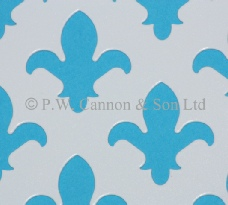 Fleur De Lys Powder Coated Metal Sheets