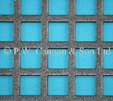 10mm Square Hole Powder Coated Metal Sheets